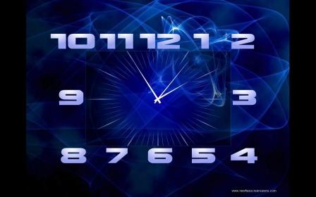 заставка на рабочий стол часы и календарь № 180419  скачать